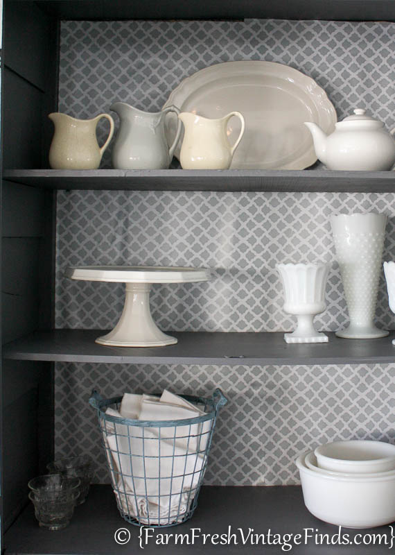 White and Gray Cupboard-8