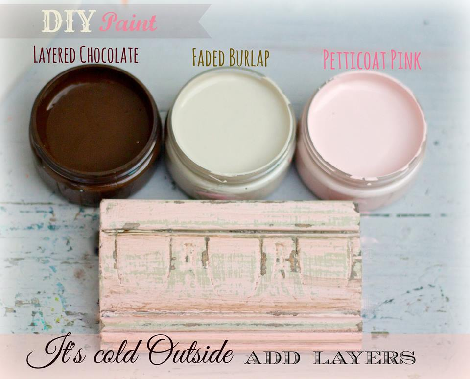 How to Layer DIY Chalk Type Paint | Jewelry Box Makeover