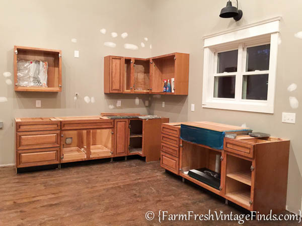 Custom Painted Kitchen Cabinets-16