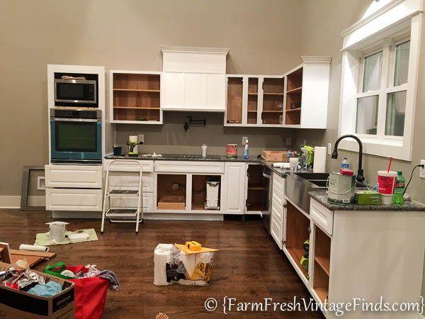 Custom Painted Kitchen Cabinets-21