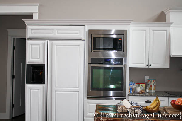 Custom Painted Kitchen Cabinets-29