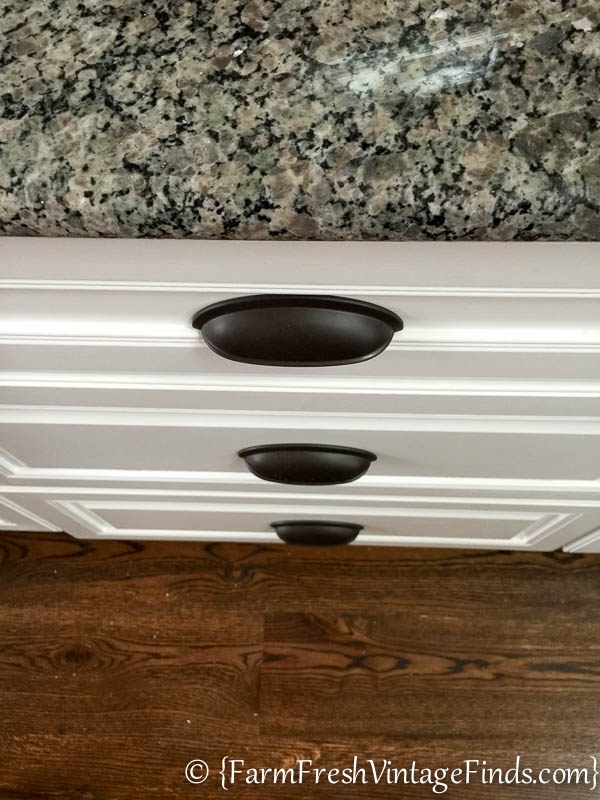 Custom Painted Kitchen Cabinets-32