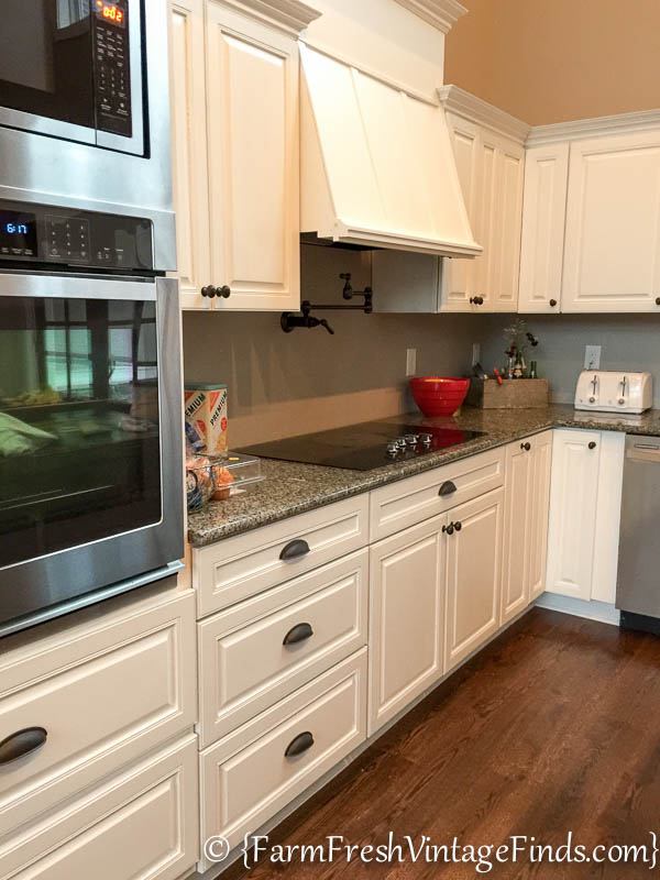 Custom Painted Kitchen Cabinets-35
