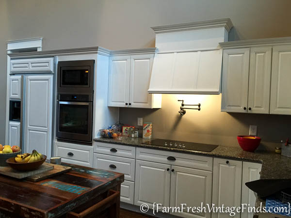 Custom Painted Kitchen Cabinets-37