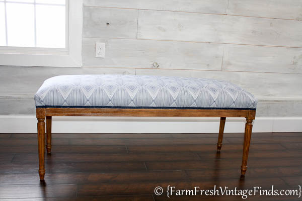 How to Upholster a Bench-13