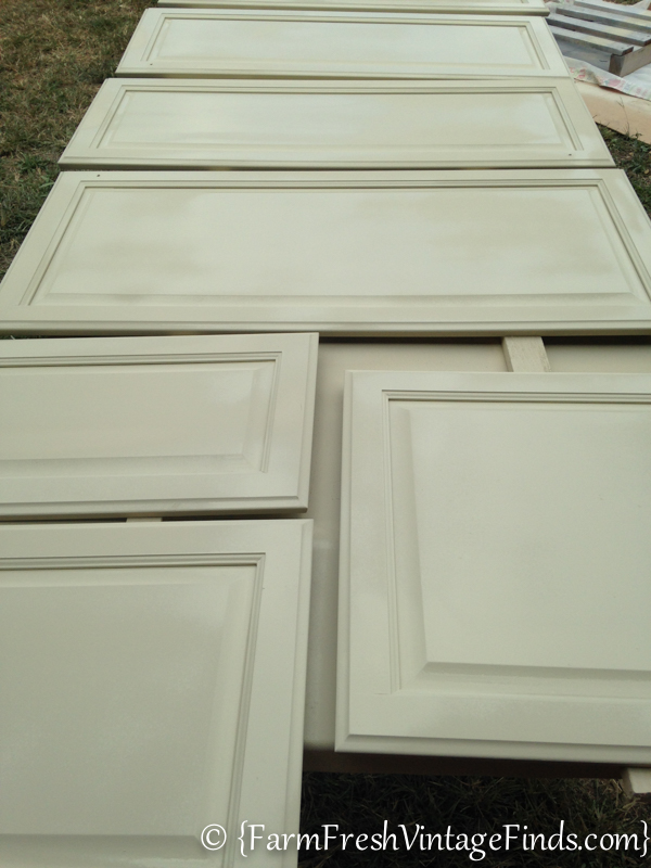Kitchen Cabinets Painted with HomeRight Finish Max-44