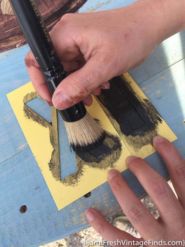 How to use Paint as a Stain (19 of 21)