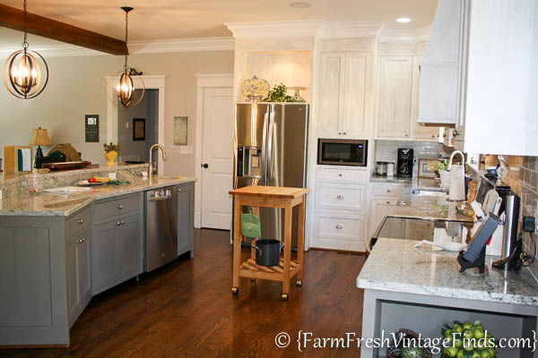 House Beautiful Inspired Painted Kitchen_-20