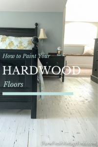Painting your hardwood floors seems like a daunting task but in this post I'll show you how easy it can be with the right tools.