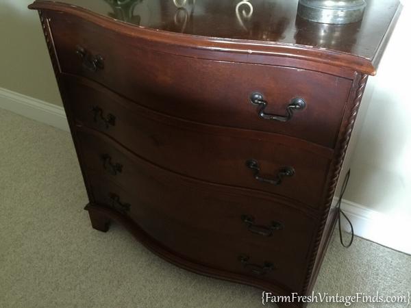 Painted Dresser with Dark Wax-19