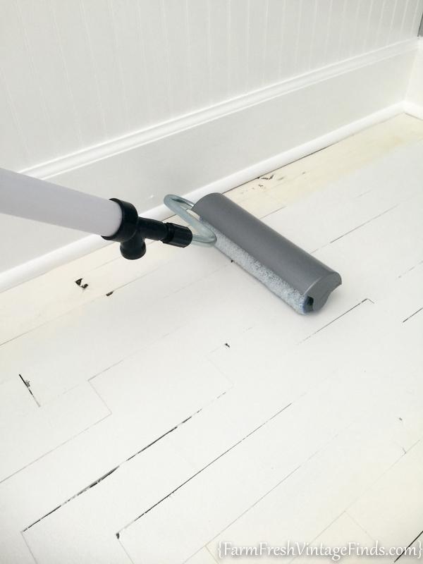 Painted Hardwood Floor-17
