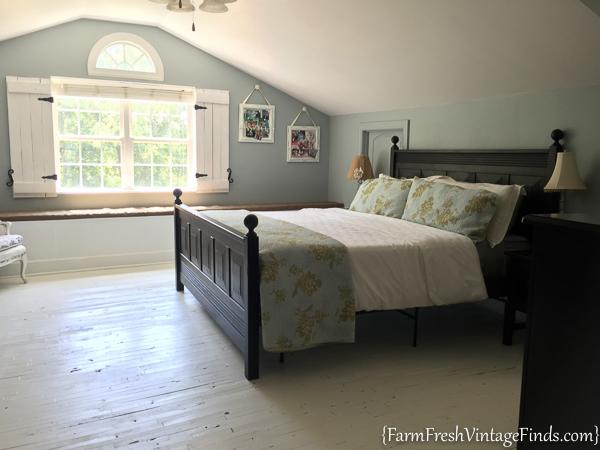 Painted Hardwood Floor-22