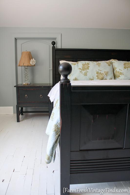Painted Hardwood Floor-34