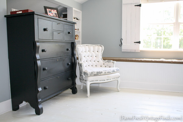 Painted Hardwood Floor-41
