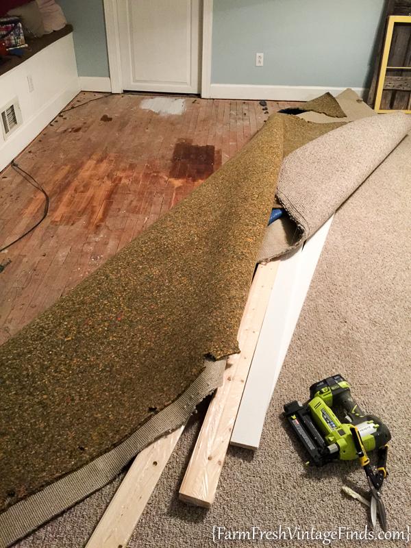 Painted Hardwood Floor-56