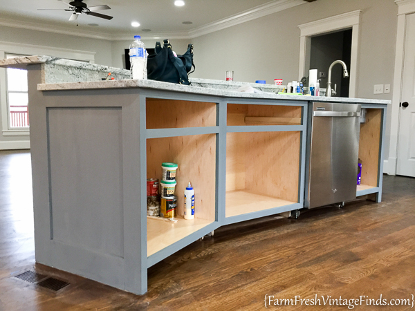 Painting and Waxing Kitchen Cabinets-17