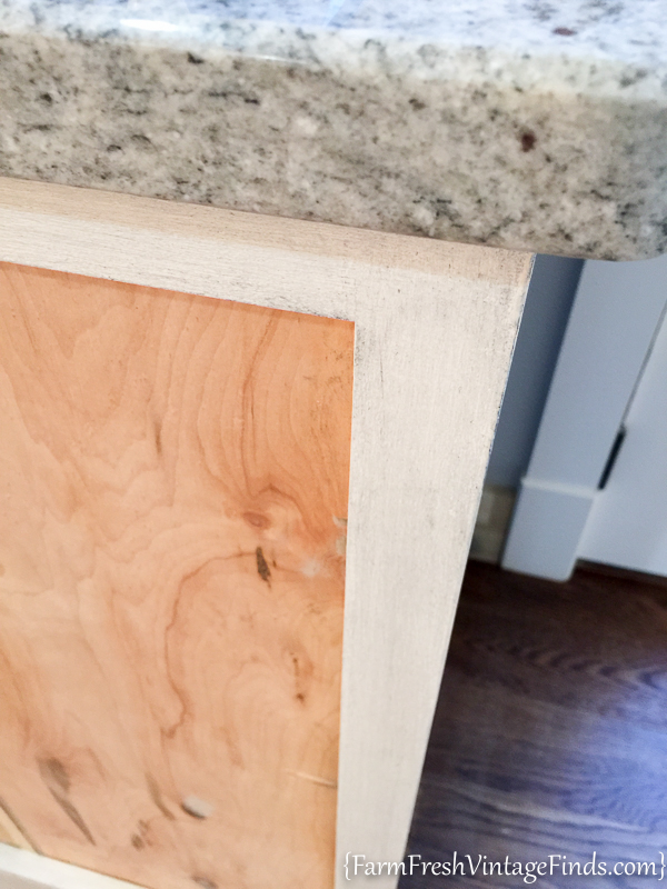 Painting and Waxing Kitchen Cabinets-22