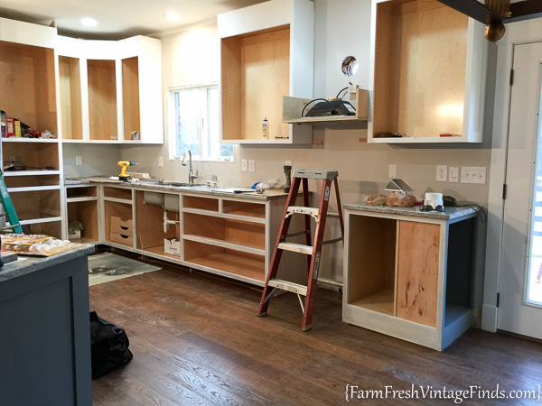 Painting and Waxing Kitchen Cabinets-25