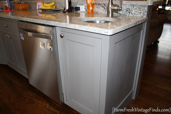 Painting and Waxing Kitchen Cabinets-40