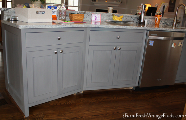 Painting and Waxing Kitchen Cabinets-55