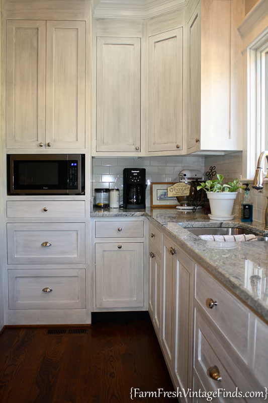Painting and Waxing Kitchen Cabinets-56