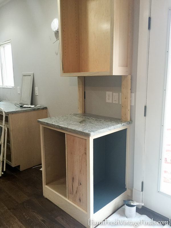 Painting and Waxing Kitchen Cabinets-6