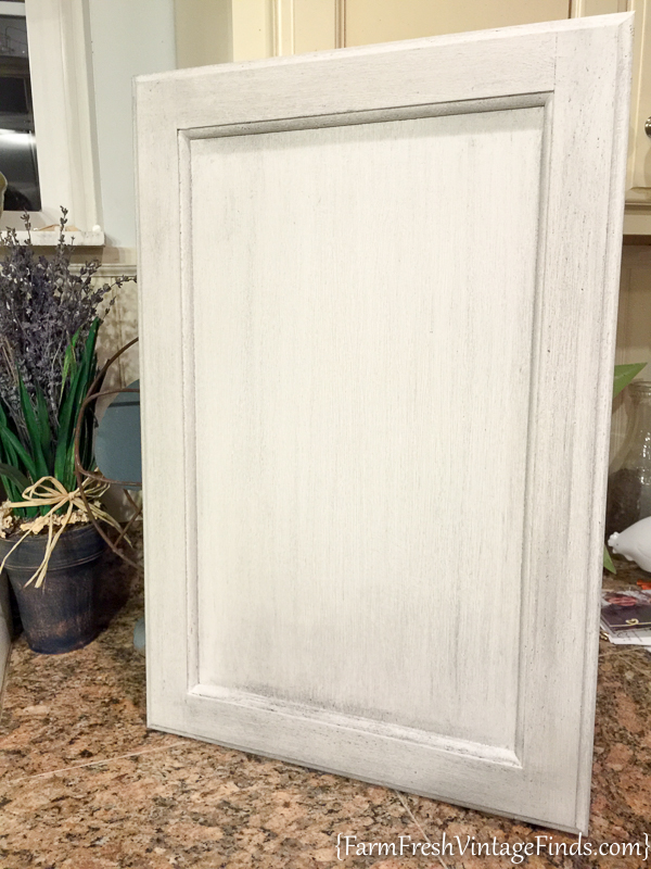Painting and Waxing Kitchen Cabinets