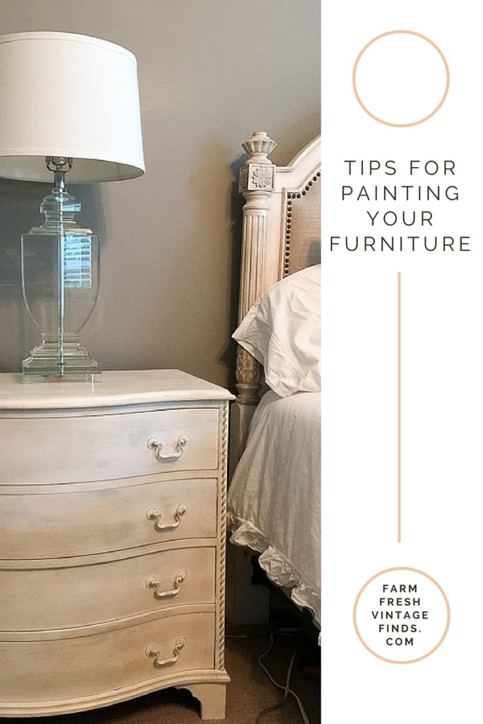 Tip for painting furniture
