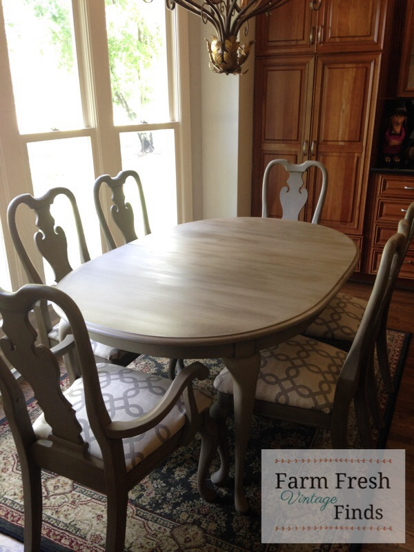 Table and Chairs painted with Finish Max