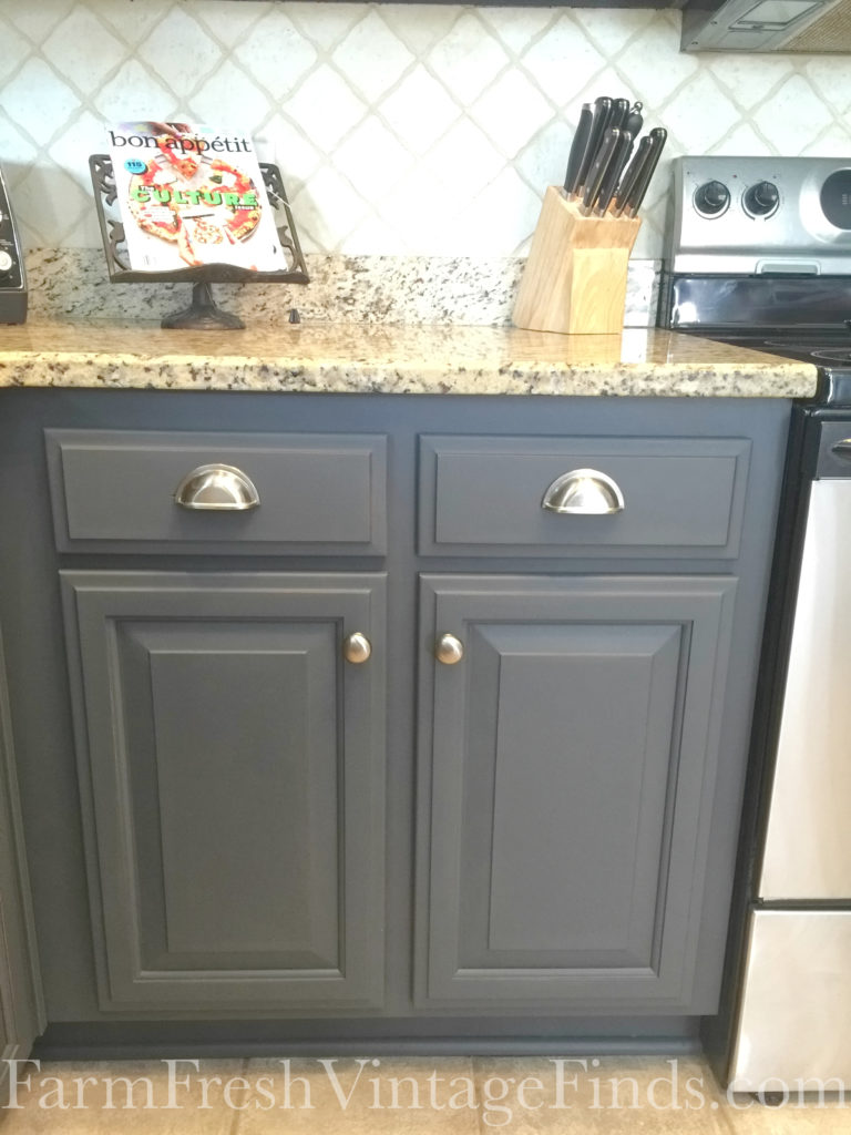 Queenstown Gray Kitchen Cabinets