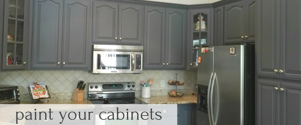 Learn How to Paint Your Cabinets with Farm Fresh Vintage Finds