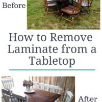 Farm Table Transformation Part 2