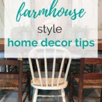 Top 10 Farmhouse Style Home Decor Tips
