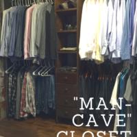 Man Cave Closet Makeover