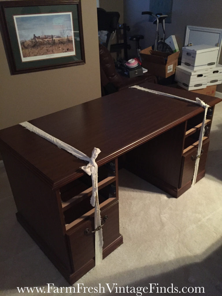 painting laminate furniture with diy chalk and clay paint