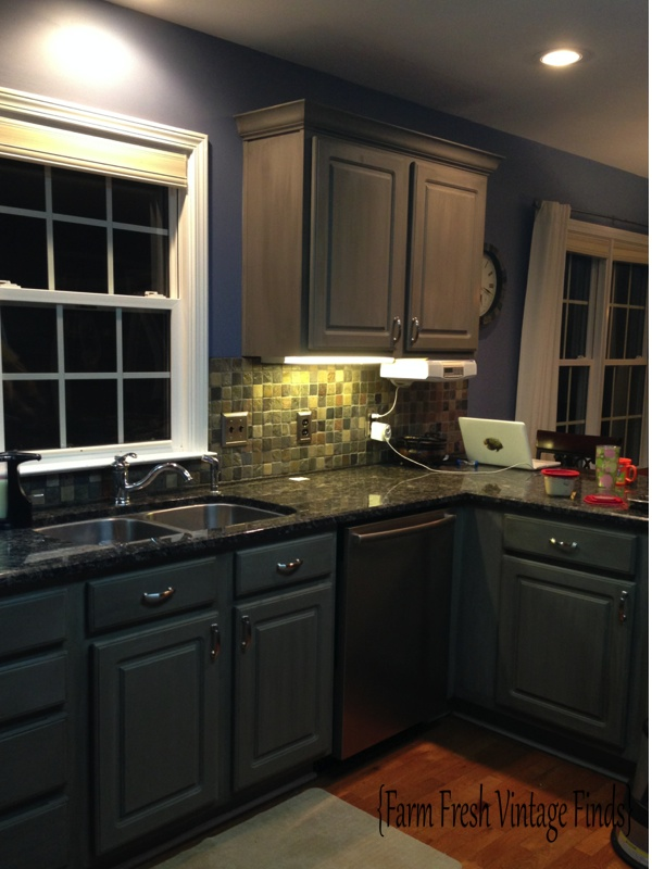 Painting Thermofoil Kitchen Cabinets The Big Reveal Farm Fresh Interesting Annie Sloan Kitchen Cabinets