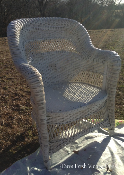 Wicker Chair 1