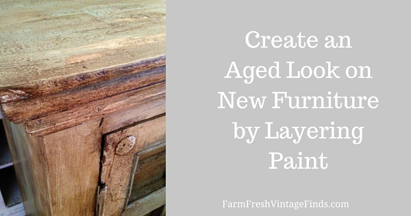 How to Get a Layered Look Using Chalk Style Paint
