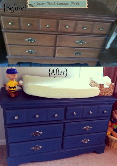 And If By Chance You Do Have A Traditional Changing Table That You Not  Longer Use. It Can Be Transformed Into The Perfect Drink Station.