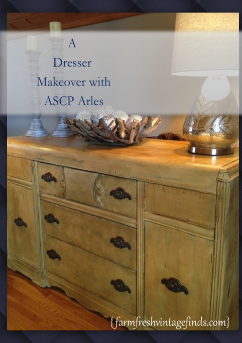 Completely new A Dresser Makeover with Annie Sloan Arles Chalk Paint - Farm Fresh  QP05