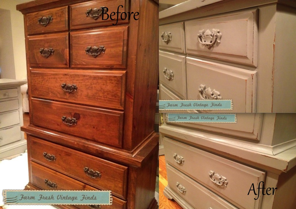 15+ Before and After Painted Furniture Ideas - Farm Fresh ...