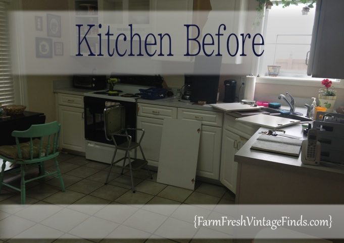 painted laminate kitchen cabinets farm fresh vintage finds