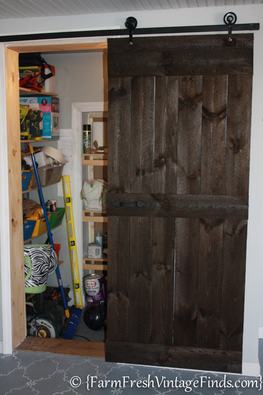 How To Build A Barn Door For Around 20 Bucks Farm Fresh