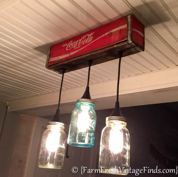 Vintage Kitchen Coke Light