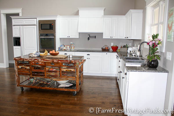 Custom Painted Kitchen Cabinets 25