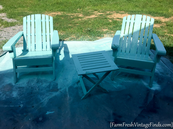 Painted Adirondack Chairs 5