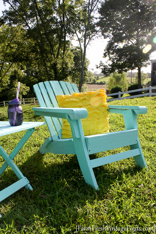 Painted Adirondack Chairs 9